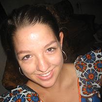 Lindsay Griswold, bénévole de Peace Corps en 2006.