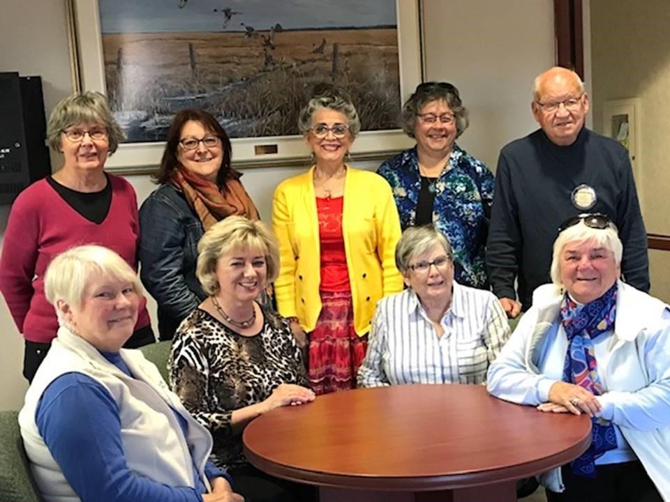 Les Rotariens du district 7810 préparant leur voyage en Suède